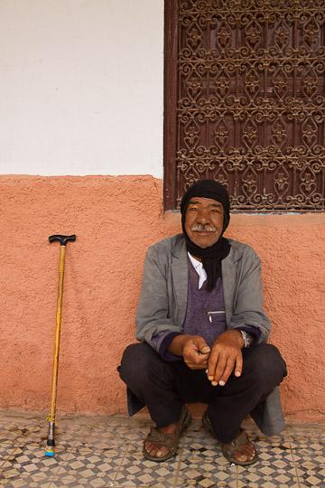 Man Resting, Tinerhir, Morocco