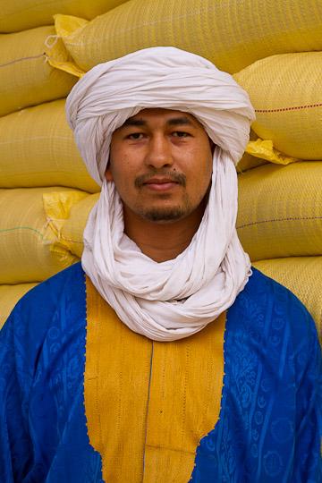 Grain Vendor, Tinerhir, Morocco