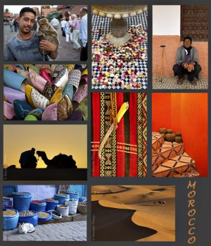 Collage of Morocco Photos