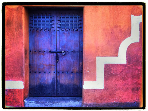 Blue Door, Guatemala