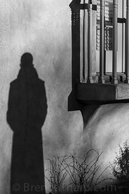 Shadow of Statue, Santa Fe